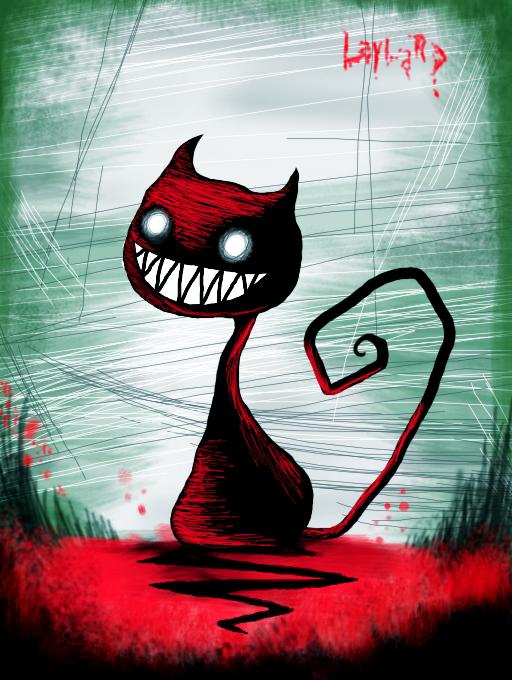 _demon_cat_by_laynard-d6ehehg