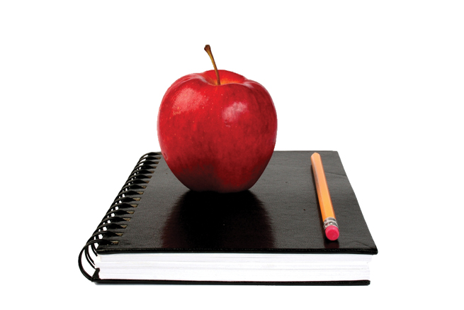 books-back-to-school-pencil-notebook-notes-apple-teacher-class