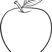 Jabłko - arkusz pracy dla dziecka z autyzmem