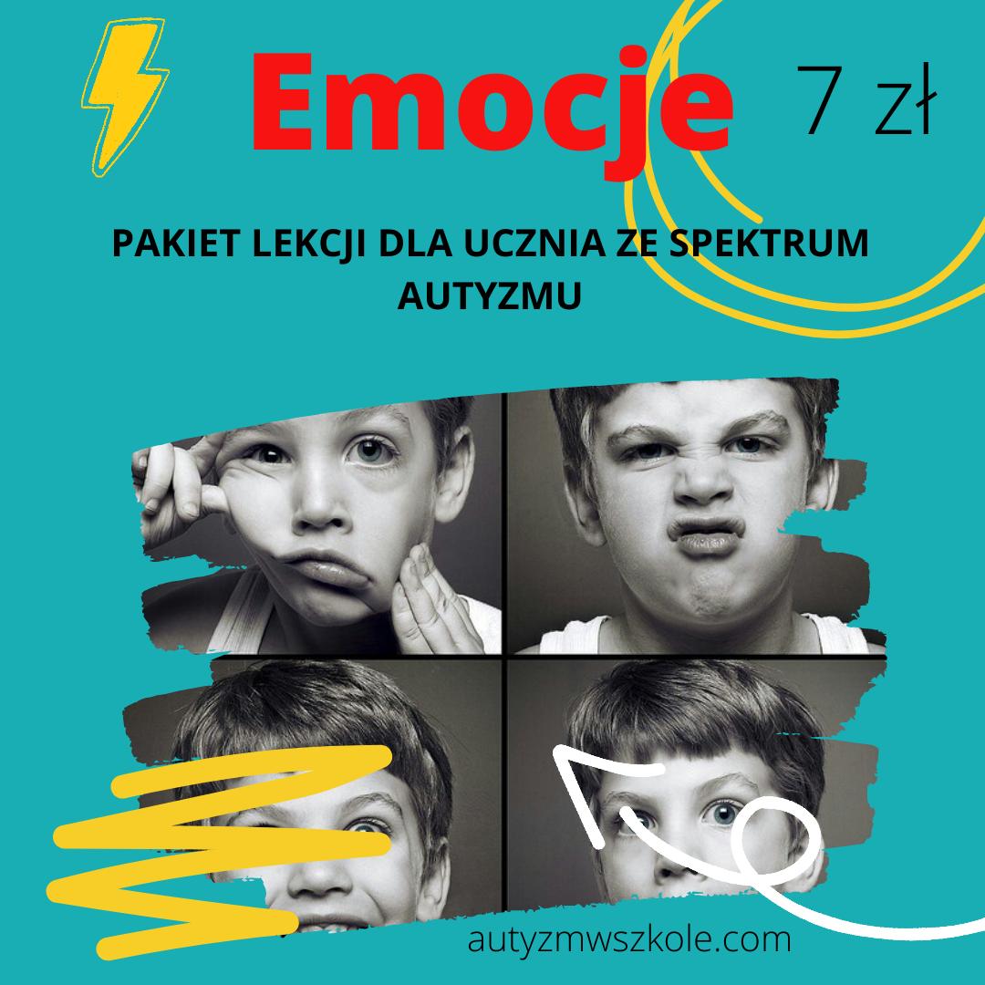 Emocje - pakiet lekcji