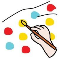 Rysowanie, malowanie - arkusz pracy dla ucznia ze spektrum autyzmu